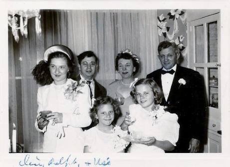 Alice & Ralph Hennig, Clara and Matt, Clarice and Virginia