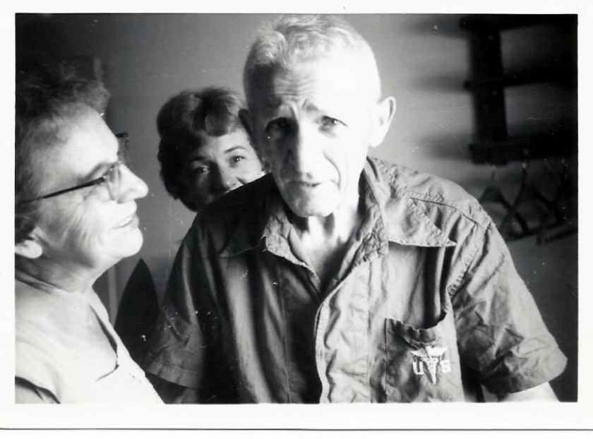 Clara, Marguerite, and Mathias Stephanz circa 1967