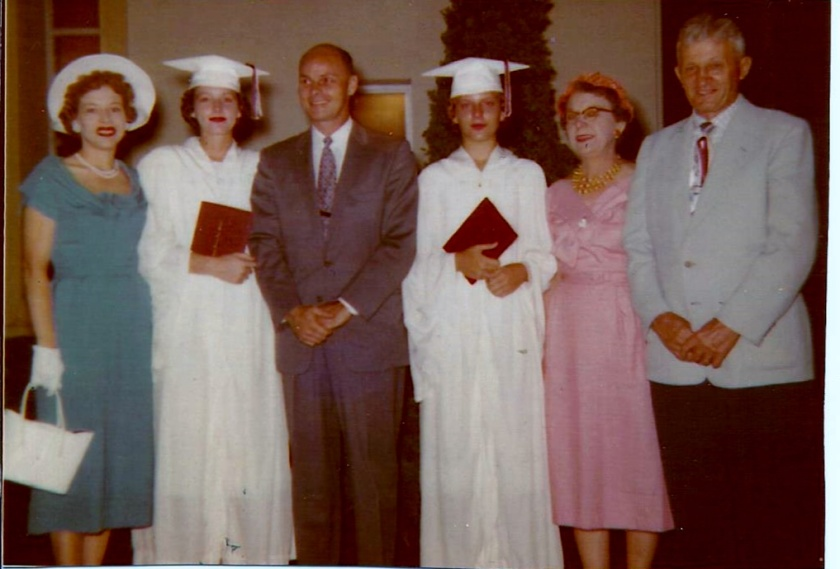 Marguerte, Al, Sharon, Clarice, Clara, Matt Stephanz
