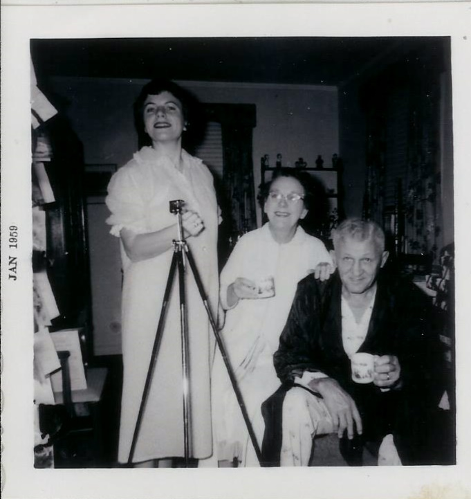 Virginia, Clara and Matt Stephanz 1959