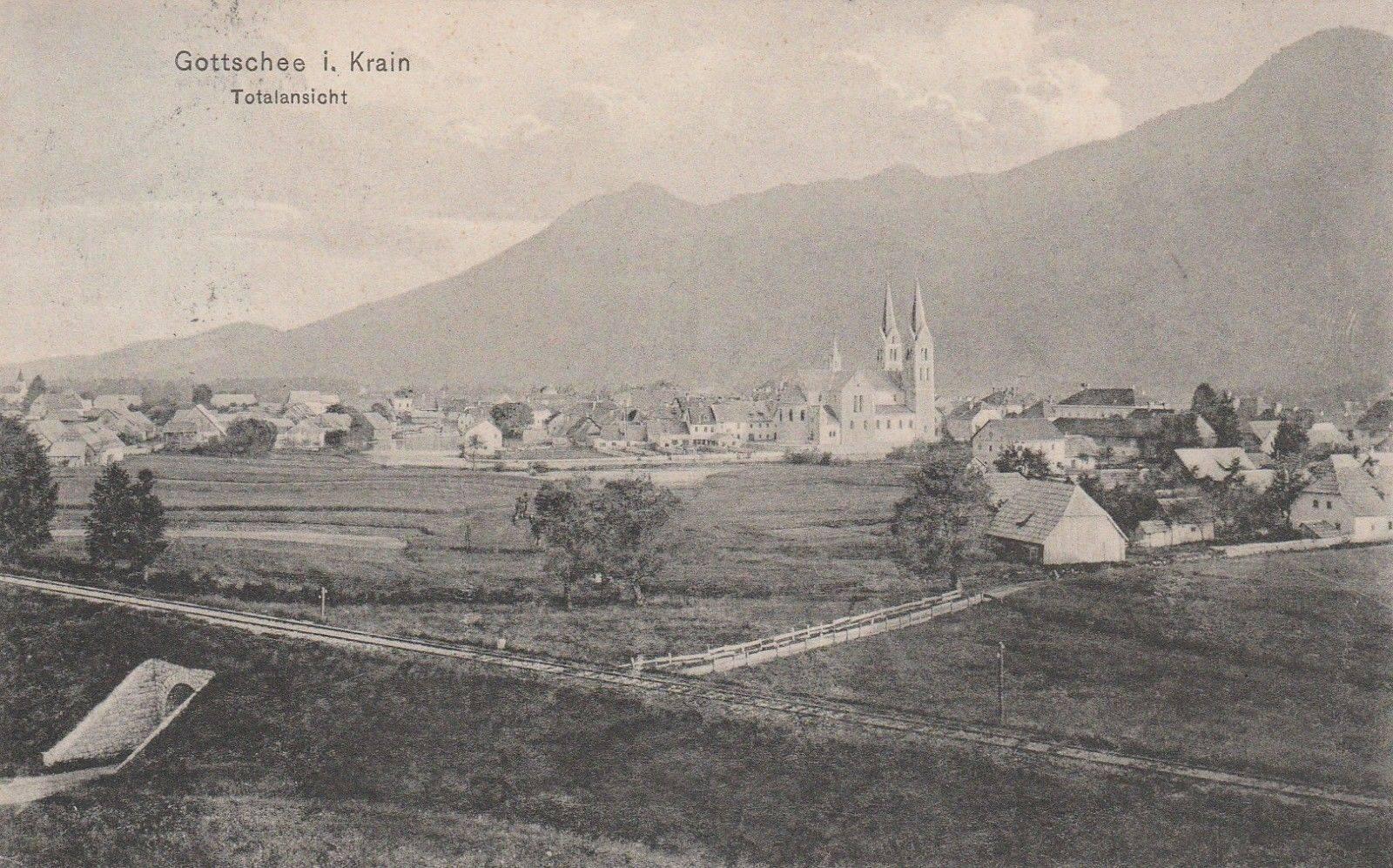 Gottschee 1910