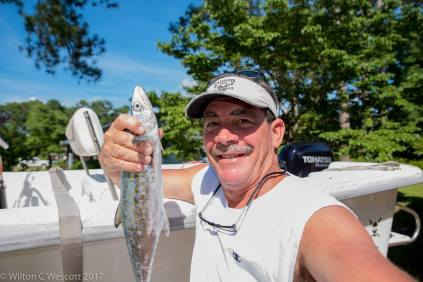 Wilton C. Wescott fish