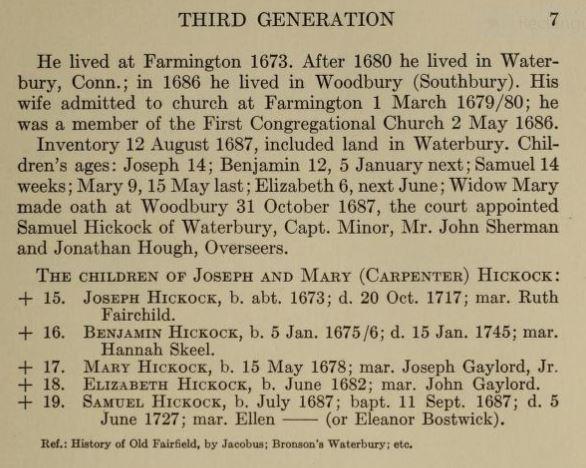 Joseph Hickok