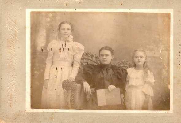 Laura Wescott, Martha Ann Chadwick Wescott, Mary Y. Wescott