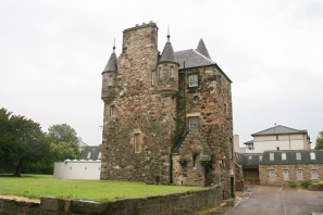 Craigantinnie House, home of Sir Robert Logan ca 1600. It is a community center today in Restalrig.