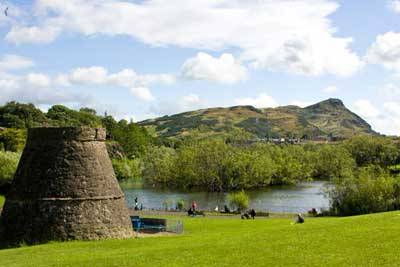 Lochend Park and Lochend Castle