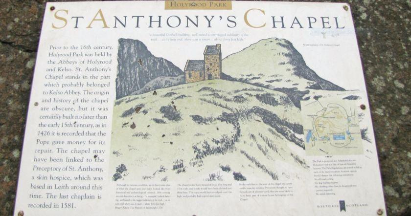 St. Anthony's Chapel Plaque