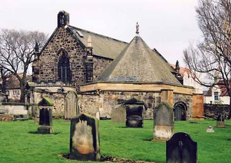 St. Margaret's Church in Restalrig. This was historically the church of the Logans of Restalrig and has a stained glass window dedicated to the Logans.