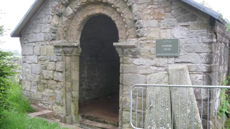 Ancient Logan Burial Crypt