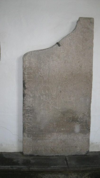 Tombstone of Lady Ker