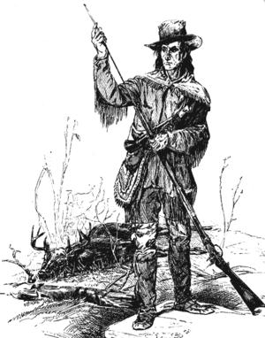Longhunter with dead deer